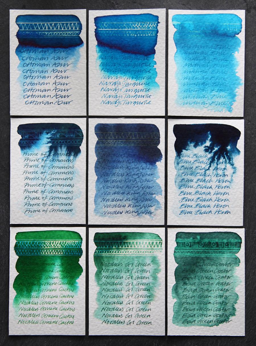 blue-greens