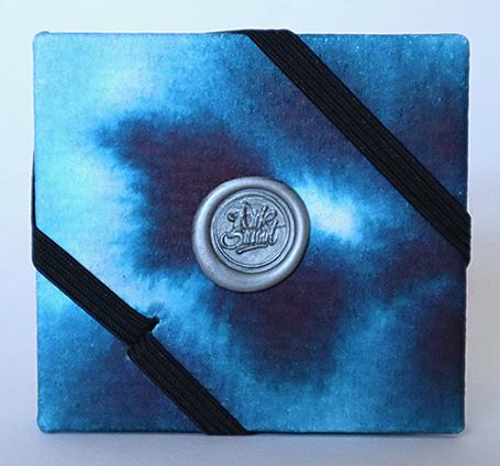 Mini Concertina Journal (50mm x 56mm) Hand Made