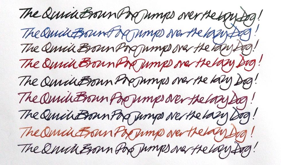 Kobe handwriting